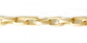 Alumiiniumkett Kuldne 15 x 9 x 4 mm, MA107