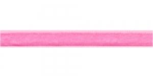 Sametpael laiusega 10mm Art.3276R / Värv Nr.510 Heleroosa