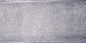 Organzapael laiusega 15 mm, Art. 3358, Värv nr. 810 Hall