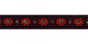 Lilleõitega dekoratiivpael, laiusega 26 mm, värv 3, Art. 4070L