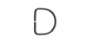 Nikkel, metallist poolkaarekujuline D kinnitus, SHD66