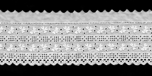 Broderie Anglaise Lace I694-01, 6 cm