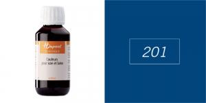 Siidivärv, batikavärv, kangavärv H`Dupont Classique, 125 ml,  SLATE BLUE 201