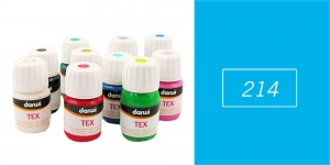 *Darwi kangavärv TEX 30 ml SKY BLUE 214