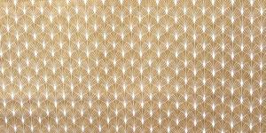 150cm, Ookerkollase kirju, puuvillane kangas, 217262 - 5000
