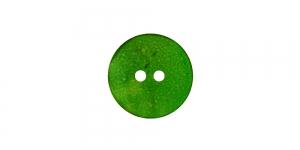 SV233/HD267 15mm Roheline naturaalne teokarbist nööp, kahe auguga