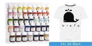 Värvid kanga värvimiseks pintsli, tampooni jms abil Vielo Fabric Paint, 50 ml, Värv: must, #141 Jet Black