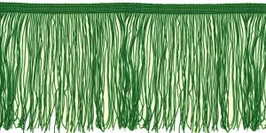 Lihtsad pikad narmad pikkusega 15 cm, värv roheline, 7