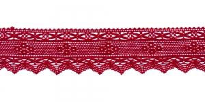 Puuvillane servapits 1797-F1, Värv Tumedam punane