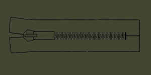 Plast hammaslukk, traktorlukk, Opti 8mm, 15-16cm, alt kinni, värv 5790