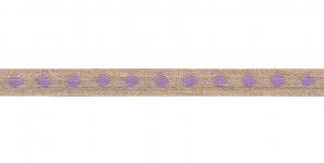Puuvillane linalaadne kaunistuspael helelilla täpimustriga, S001-2E