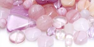 LL3 6-20mm Heleroosakate erikujuliste pärlite segu