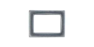 21 mm x 16 mm Antiikhõbedane, kandiline vahedetail SHP107/IR830