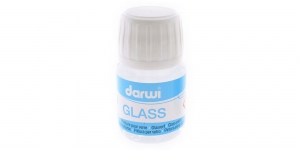 Thinner agent for glass paints Darwi Glass Thinner, Diluant, 30ml