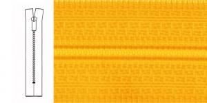 Неразъёмные спиральные молнии 4мм, 40см , 1279