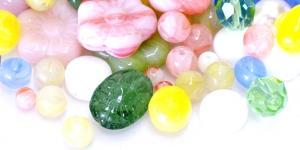 LL143A 6-16mm Erivärviliste erikujuliste pärlite segu