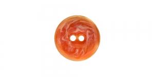 SV254/HD315 18mm Oranž naturaalne teokarbist nööp, kahe auguga