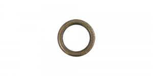 Metallirengas ø15 mm, pinnoite: vanha messinki, SHR19