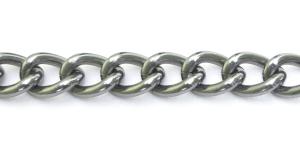 MA53 30 x 20 x 6 mm Antiikhõbedane Alumiiniumkett