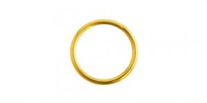 Kuldne rõngas, Golden Jump Rings, 8 x 0,7 mm , EF31