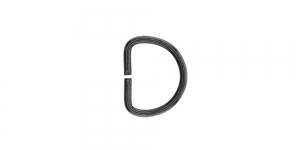 SHD32 Mustjas-metallik, metallist poolkaarekujuline D kinnitus