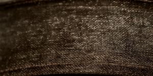 Organzapael laiusega 15 mm, Art. 3358, Värv nr.110 Must