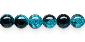 KE25 12mm Türkiissinine, must läbipaistev mõraline klaashelmes