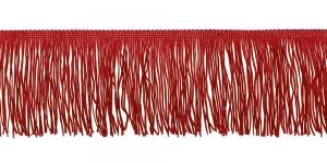Lihtsad narmad pikkusega 10 cm, värv tumepunane, 18