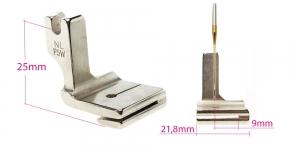Kõrge kruvikinnitusega (tööstusliku õmblusmasina standard) krookimistald, 21,8 mm, P5W, KL0853