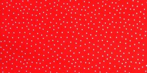 145cm Punane, valgetäpiline, puuvillane kangas, KC2802-341