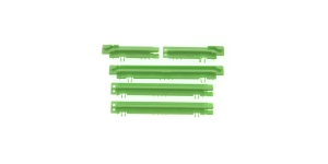 Knitting machine motif cams, green