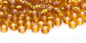 Czech Rocaille (Seed), Beads, 3/0 (5.3-5,8mm), Preciosa, Color: HG18