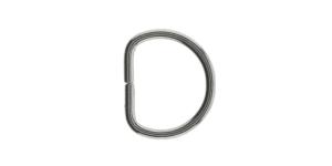 D-ring, half ring for tape width: 10-12mm, SHD64