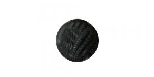 SG71 ø12 mm Must punutud mustriga plastiknööp