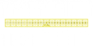 Joonlaud, Ruler, 3cm x 30cm, SewMate M0330