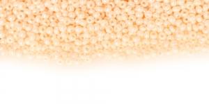 Terahelmed, seemnehelmed, Nr.11 (2-2.2 mm), Preciosa Kreemjasvalged läbipaistmatud kõrgläikegaTerahelmed, HC54