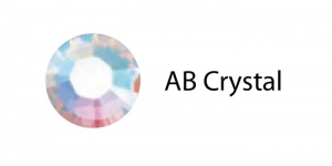 Triigitav MC kristall SS6 Värvitu AB-kattega / Crystal AB
