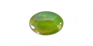 KM132 18x13x4mm Roheline, lameda põhjaga klaashelmes