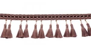 Soliidne kaunistuspael tuttidega, üldlaiusega 10cm, värv vanaroosa