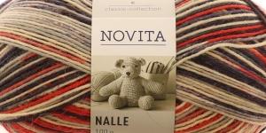 Villasisaldusega sokilõng Nalle Taika, Novita, värv, 819