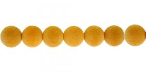 Oranžikas beež samethelmes, 12mm, CD21