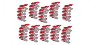 Kiinnitysklipsit ompelu- ja tilkkutöihiin, 50 kpl, Clover 3156