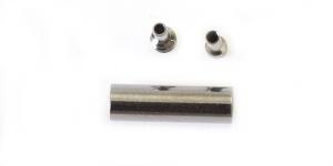 Kruvikinnis Hematiit, 13 x 4mm, EJ22