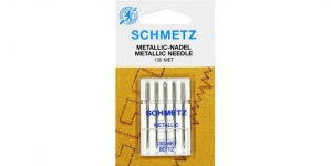 Metallikniidi nõel koduõmblusmasinatele, Schmetz Metafil Nr.80