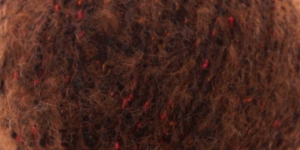 Siidi ja alpakavilla sisaldusega lõng Alpaca Tweed, värv nr.8 punakaspruun