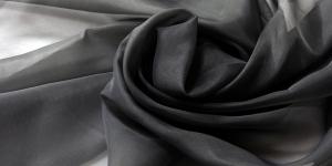 Voilee verhokangas Velo / 300cm, väri Nero