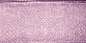Organzapael laiusega 15 mm, Art. 3358, Värv nr. 480 Lillakas vanaroosa