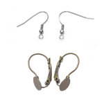 Earwires, Earring Fittings, Hooks, Studs, Posts, Components