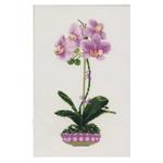 Tikkimiskomplekt Lilla orhidee 1163