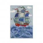 Tikkimiskomplekt 1465 Laev ja kalad firmalt Riolis